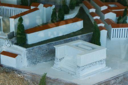 Bergama Zeus Sunağı Planı