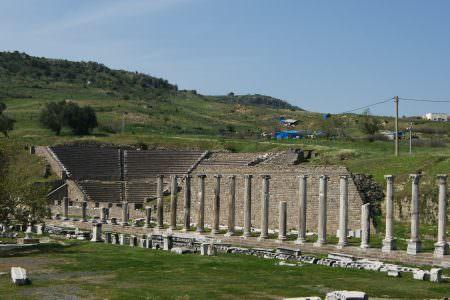 Antik Tiyatro ve Kuzey Galeri