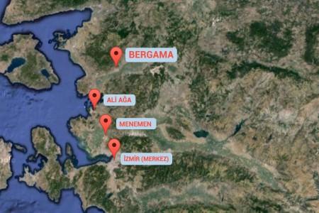 İzmir - Menemen - Aliağa - Bergama