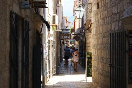 Old Town sokakları