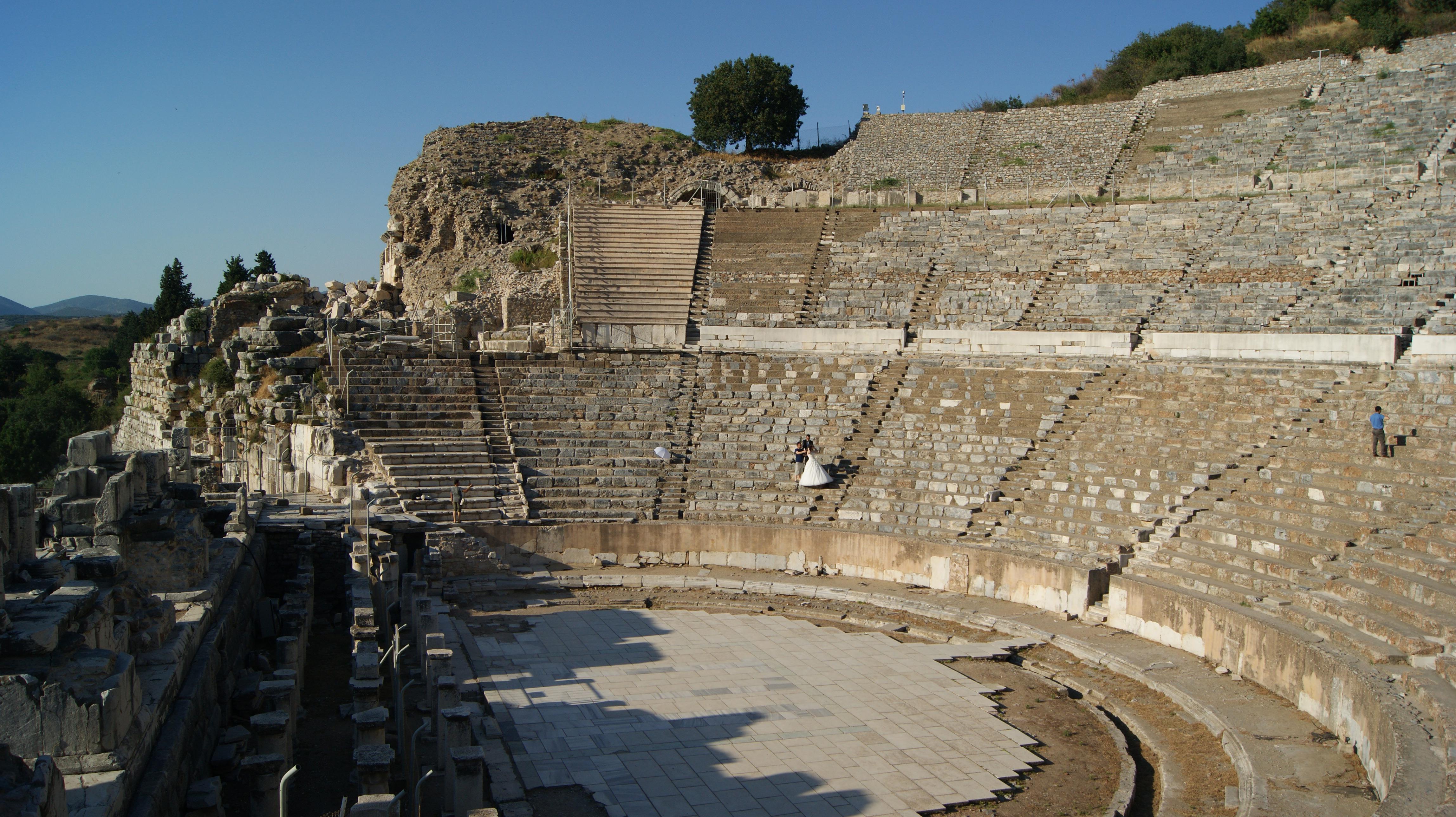 Efes Antik Tiyatrosu Kişisel Gezi Blogu Gezi Rehberi şahin Doğan